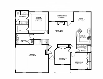 New bern nc real estate new homes new property homes for National homes corporation floor plans